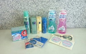 Eyeglass cleaners